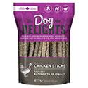 Dog Delights Treats - Chewy Chicken Sticks - 1kg