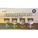 Hardbite Kettle Chips Explorer Pack - 32/30g