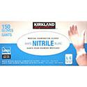 Kirkland Signature Large White Nitrile Examination Gloves - 150 Count