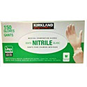 Kirkland Signature Medium White Nitrile Examination Gloves - 150 Count