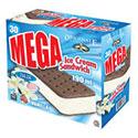 Mega Ice Cream Sandwiches - 30 Pack