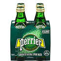 Perrier Carbonated Natural Spring Water - 4/330mL