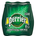Perrier Carbonated Natural Spring Water - 6/500mL