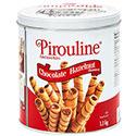 Pirouline Chocolate Hazelnut Rolled Wafers - 1.1 kg