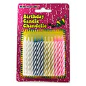 Spiral Birthday Candles - 24 Count