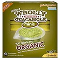 Wholly Guacamole Organic 100 Calorie Minis - 12/57g